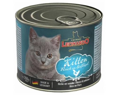 Leonardo консервы для котят с Птицей. Вес: 200 г