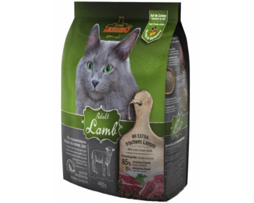 Leonardo Эдалт-Сенситив сухой корм для Взрослых кошек Ягненок/рис при чувствительном пищеварении. Вес: 400 г