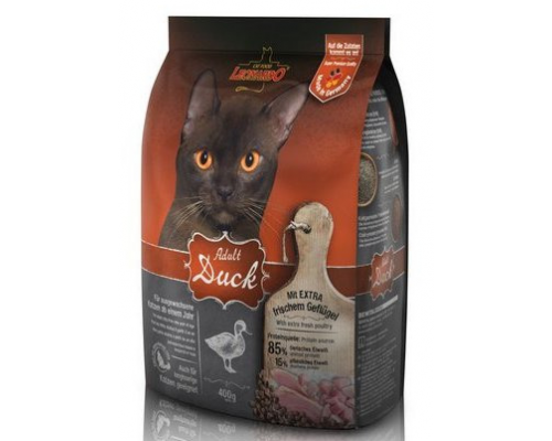Leonardo Эдалт-Сенситив сухой корм для Взрослых кошек Утка/рис. Вес: 400 г