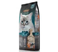Leonardo Эдалт-Сенситив сухой корм для Взрослых кошек Рыба/рис для здоровья кожи/шерсти. Вес: 15 кг