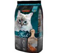 Leonardo Эдалт-Сенситив сухой корм для Взрослых кошек Рыба/рис для здоровья кожи/шерсти. Вес: 2 кг