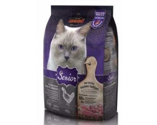 Leonardo Сеньор сухой корм для Стареющих кошек. Вес: 400 г