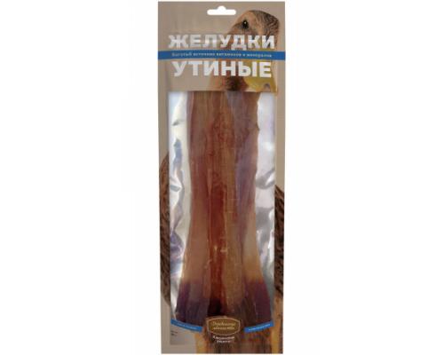 Деревенские лакомства для собак желудки утиные. Вес: 40 г