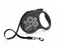 TRIOL Поводок-рулетка для собак Flexi Joy Motor L 5м до 50кг, лента