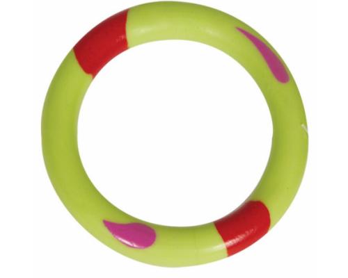 """TRIOL Игрушка для собак из резины """"Кольцо"""", 60 мм"""