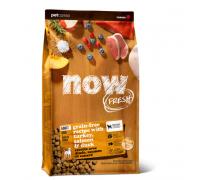NOW FRESH Беззерновой для Взрослых собак с Индейкой, Уткой и овощами (Fresh Adult Recipe Grain Free). Вес: 1,59 кг