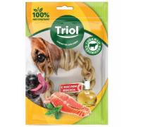 TRIOL Кольцо плетеное из жил с маслом лосося, 9см, 45-55г (Триол)