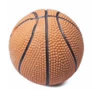 TRIOL Игрушка для собак Мяч баскетбольный, латекс d7см (Триол)