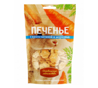 Деревенские лакомства для собак Печенье с крольчатиной и морковью. Вес: 100 г
