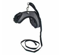 ДАРЭЛЛ-АЭРО Шлейка-Поводок для кошек и собак 3d-сетка №8 (обхв. груди 34-40см)