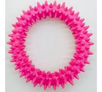ГРЫЗЛИК АМ Кольцо с шипапи 10 см, розовое