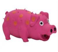 """ZIVER Игрушка """"Свинья со специальным звуком розовая"""", 15 см"""