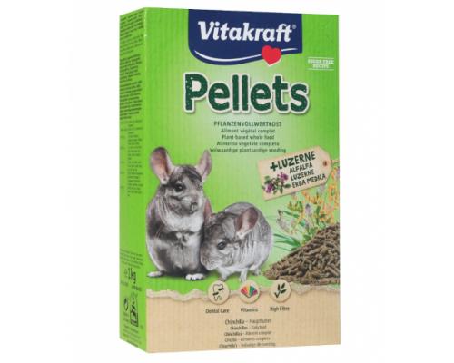 Vitakraft PELLETS корм для шиншилл основной (Витакрафт). Вес: 1 кг