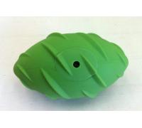 """SuperDesign Игрушка для собак """"Регби"""" резиновый с пищалкой 13см"""