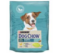 PURINA DOG CHOW Дог Чау Корм для щенков мелких пород с курицей. Вес: 800 г