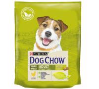 PURINA DOG CHOW Дог Чау Корм для взрослых собак мелких пород с курицей. Вес: 800 г