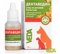 VEDA Дентаведин гель для обработки полости рта (ВЕДА). Вес: 15 г