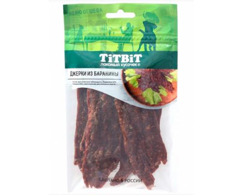 TiTBiT Джерки мясные из баранины Меню от Шефа 70 г