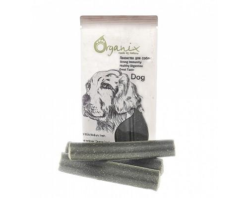 """Organix Лакомства для собак Зубные палочки """"Дентал Стик"""" медиум с Эвкалиптом (Dental Sticks Medium Fresh)"""