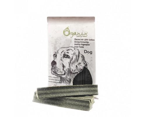 """Organix Лакомства для собак Зубные палочки """"Дентал Стик"""" макси с Эвкалиптом (Dental Sticks Large Fresh)"""