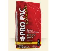 PRO PAC Ultimates Chicken Meal & Brown Rice сухой корм для взрослых собак всех пород Курица и Рис (чикен/браун рис)