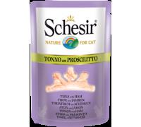 Schesir консервы для кошек Тунец/ветчина 70 г