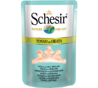 Schesir консервы для кошек Тунец/дорада 70 г