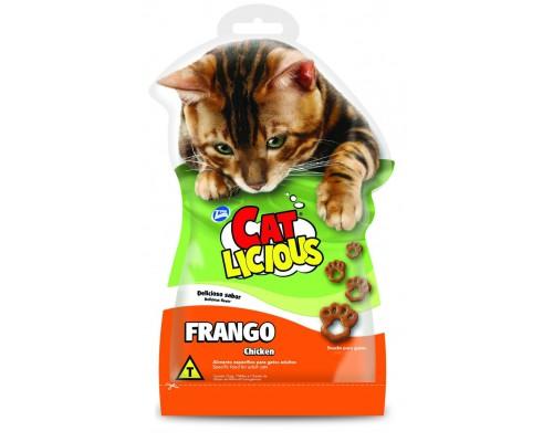 """Total Max (Бразилия) Лакомство для кошек """"C курочкой"""" (Cat Licious Chicken Flavor - Cat´s Paw) 40 г"""