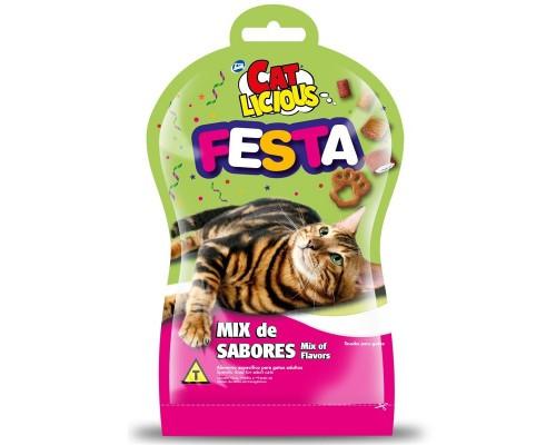 """Total Max (Бразилия) Лакомство для кошек """"Фиеста"""" Mикс (Cat Licious Festa) 40 г"""