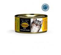 ВАСЬКА консервы для кошек Курица профилактика МКБ 325 г