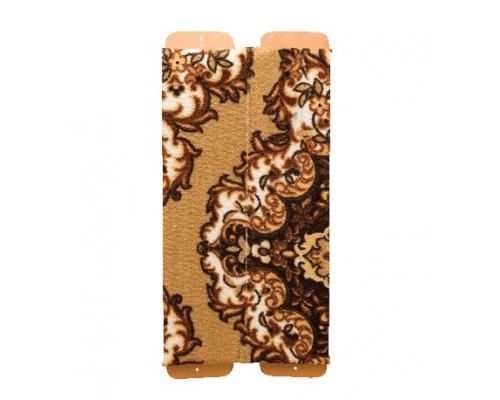Когтеточка ЗООНИК ковровая угловая (высота 50, ширина 23)